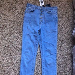 Hi rose Forever 21 jeans
